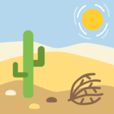 Desert on JoyPixels 2.0