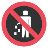 No Littering on JoyPixels 2.0