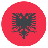 Flag: Albania on JoyPixels 2.0