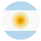 Flag: Argentina on JoyPixels 2.0