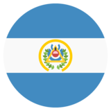 Flag: El Salvador on JoyPixels 2.0