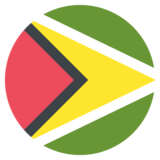 Flag: Guyana on JoyPixels 2.0