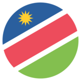 Flag: Namibia on JoyPixels 2.0