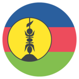 Flag: New Caledonia on JoyPixels 2.0