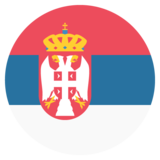 Flag: Serbia on JoyPixels 2.0