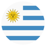 Flag: Uruguay on JoyPixels 2.0