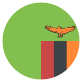 Flag: Zambia on JoyPixels 2.0
