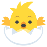 Hatching Chick on JoyPixels 2.0