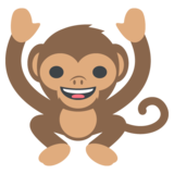 Monkey on JoyPixels 2.0