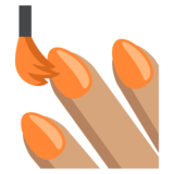 Nail Polish: Medium Skin Tone on JoyPixels 2.0