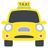 Oncoming Taxi on JoyPixels 2.0