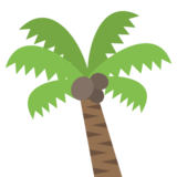 Palm Tree on EmojiOne 2.0