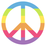 Peace Symbol on JoyPixels 2.0