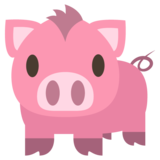Pig on EmojiOne 2.0