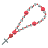 Prayer Beads on JoyPixels 2.0