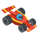 Racing Car on JoyPixels 2.0