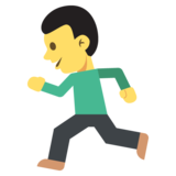 Person Running on EmojiOne 2.0