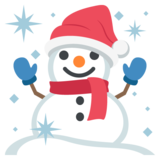 Snowman on EmojiOne 2.0