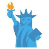 Statue of Liberty on JoyPixels 2.0