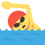 Person Swimming on JoyPixels 2.0