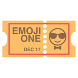 Ticket on EmojiOne 2.0