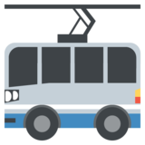 Trolleybus on JoyPixels 2.0