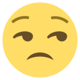 Unamused Face on EmojiOne 2.0