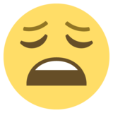 Weary Face on EmojiOne 2.0