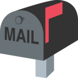 Closed Mailbox with Raised Flag on JoyPixels 2.1