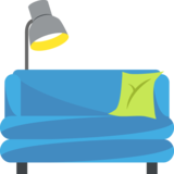 Couch and Lamp on JoyPixels 2.1