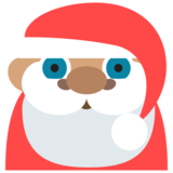 Santa Claus: Medium Skin Tone on JoyPixels 2.1
