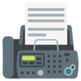 Fax Machine on JoyPixels 2.1