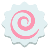 Fish Cake with Swirl on JoyPixels 2.1