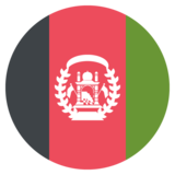 Flag: Afghanistan on JoyPixels 2.1