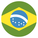 Flag: Brazil on JoyPixels 2.1
