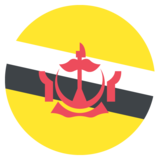 Flag: Brunei on JoyPixels 2.1