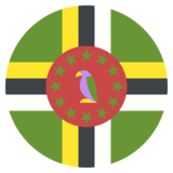 Flag: Dominica on JoyPixels 2.1