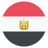 Flag: Egypt on JoyPixels 2.1