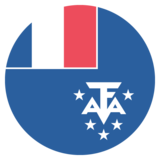 Flag: French Southern Territories on JoyPixels 2.1