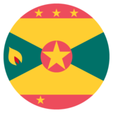 Flag: Grenada on JoyPixels 2.1