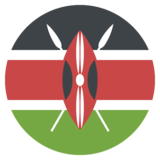Flag: Kenya on JoyPixels 2.1