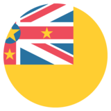 Flag: Niue on JoyPixels 2.1