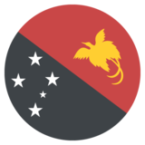 Flag: Papua New Guinea on JoyPixels 2.1