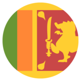 Flag: Sri Lanka on JoyPixels 2.1