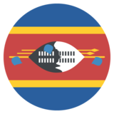 Flag: Swaziland on JoyPixels 2.1
