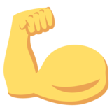 Flexed Biceps on JoyPixels 2.1