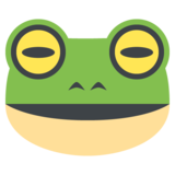 Frog Face on JoyPixels 2.1