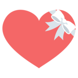 Heart with Ribbon on JoyPixels 2.1
