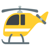 Helicopter on JoyPixels 2.1