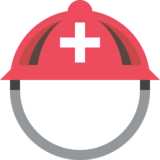 Rescue Worker's Helmet on JoyPixels 2.1